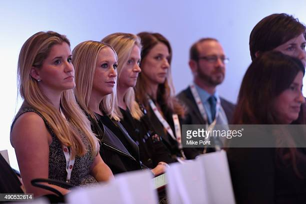 General view of the audience at the The Location Summit panel presented by The Weather Company during Advertising Week 2015 AWXII at the ADARA Stage...