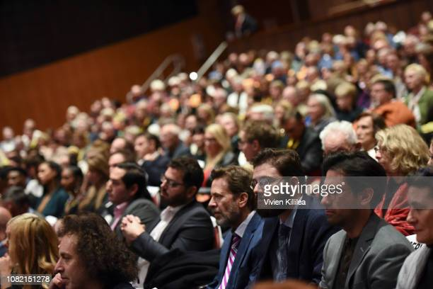 A general view of the audience during the Closing Night Screening of 'Ladies In Black' at the 30th Annual Palm Springs International Film Festival on...