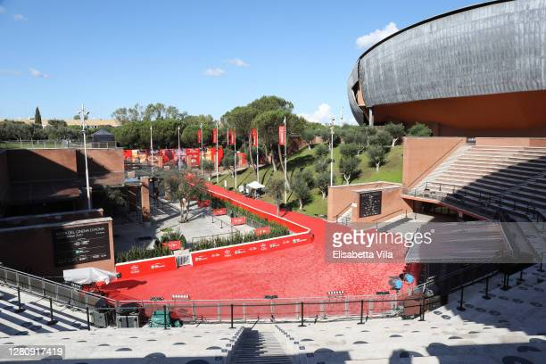 General view of the Auditorium Parco della Musica at the 15th Rome Film Festival on October 18, 2020 in Rome, Italy.