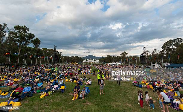 General view of the Australian of The Year Awards 2016 at Parliament House on January 25 2016 in Canberra Australia