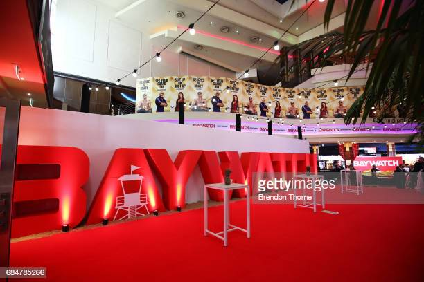 A general view of the Australian premiere of 'Baywatch' at Hoyts EQ on May 18 2017 in Sydney Australia