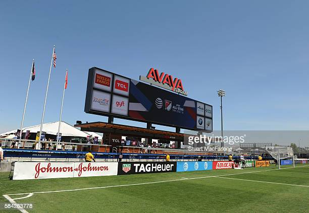A general view of the Avaya Stadium before the MLS AllStar Game between the MLS AllStars and Arsenal on July 28 2016 in San Jose California