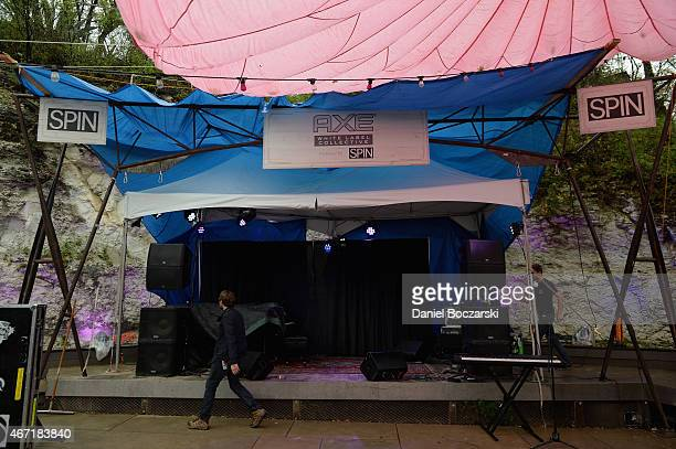 A general view of the AXE White Label Collective Party powered by SPIN at SXSW on March 21 2015 in Austin Texas