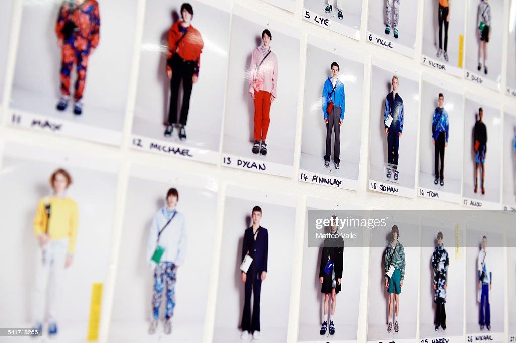 MSGM - Backstage - Milan Men's Fashion Week SS17 : News Photo