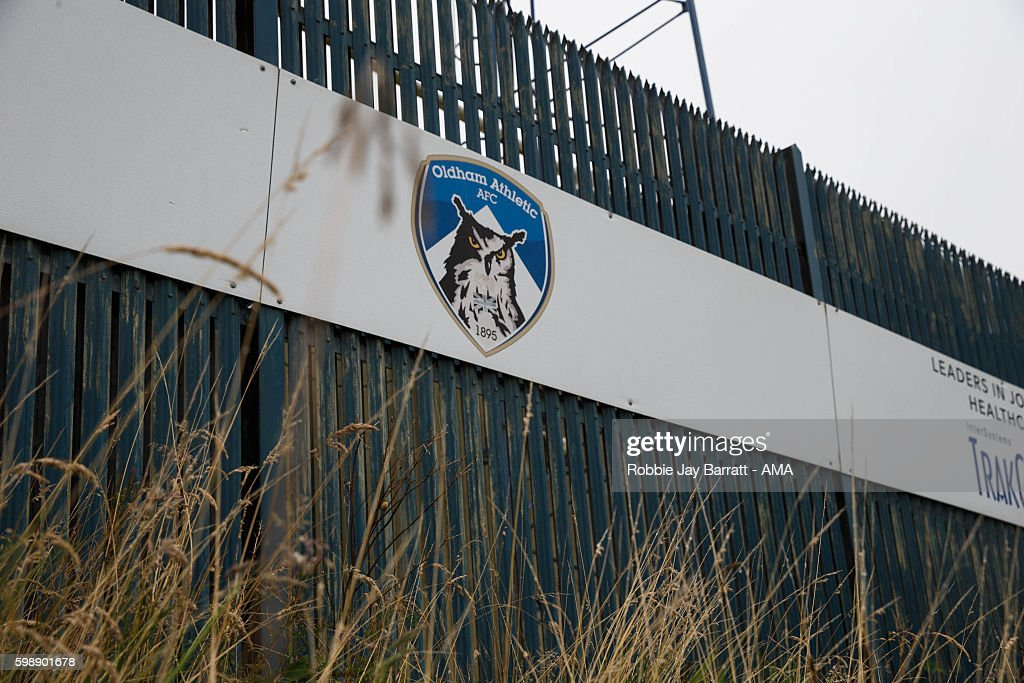 Oldham Athletic v Shrewsbury Town - Sky Bet League One : News Photo