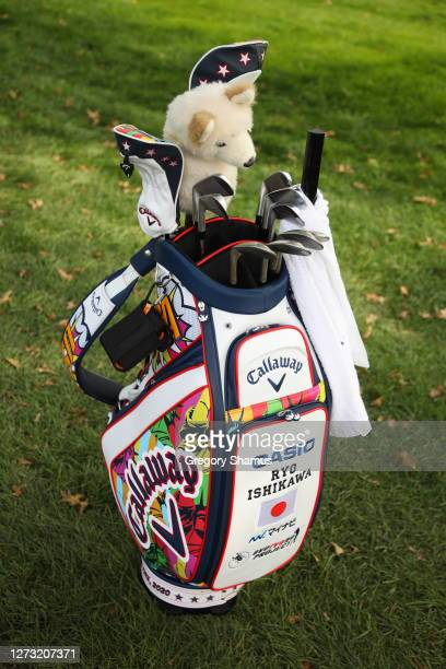 General view of the bag of Ryo Ishikawa of Japan during the first round of the 120th U.S. Open Championship on September 17, 2020 at Winged Foot Golf...