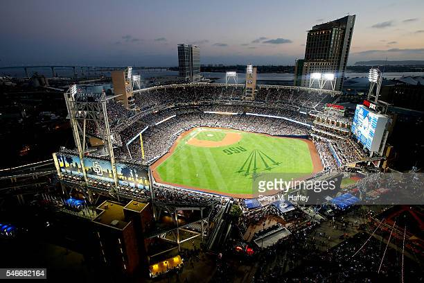General view of the ball park during the 87th Annual MLB All-Star Game at PETCO Park on July 12, 2016 in San Diego, California.
