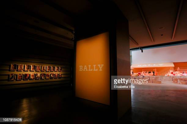 Dennylahome attended the Bally Spring Summer 2019 Press Presentation during Milan Fashion Week on September 22 2018 in Milan Italy