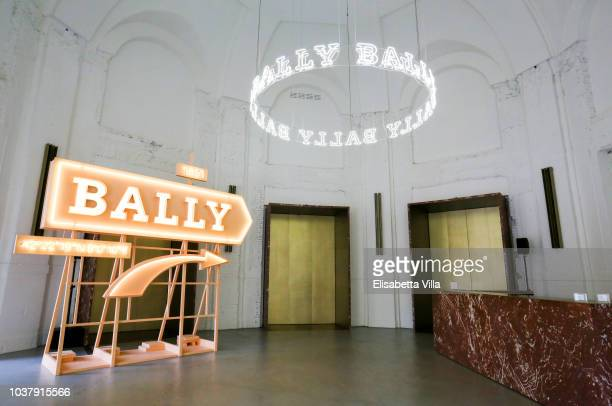 A general view of the Bally Spring Summer 2019 Press Presentation during Milan Fashion Week on September 22 2018 in Milan Italy