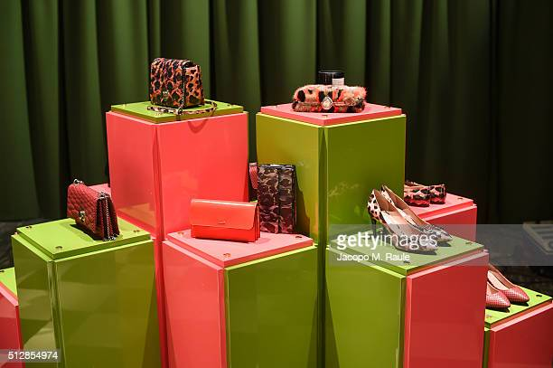 A general view of the Bally Women's Autumn Winter 2016 Presentation during Milan Fashion Week on February 28 2016 in Milan Italy