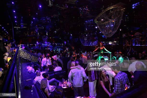 General view of The Bank Nightclub at Bellagio Las Vegas on March 12 2010 in Las Vegas Nevada
