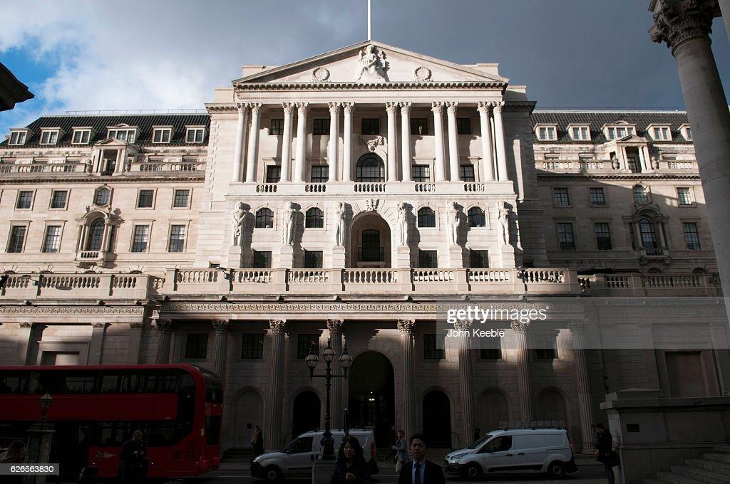 Bank of England : News Photo