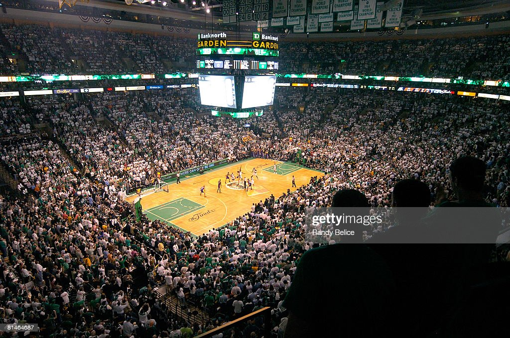 A General View Of The TD Banknorth Garden During Game One Of The 2008 NBA  Finals