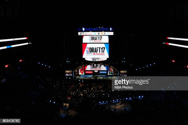 A general view of the Barclays Center at the 2017 NBA Draft on June 22 2017 at Barclays Center in Brooklyn New York NOTE TO USER User expressly...