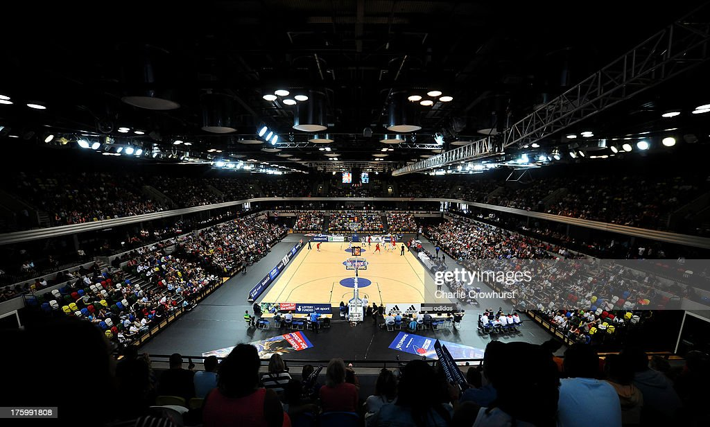 Great Britain v Puerto Rico - International Basketball : News Photo