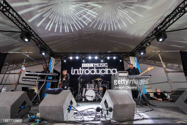 General view of the BBC Music Introducing stage during Reading Festival 2021 at Richfield Avenue on August 29, 2021 in Reading, England.