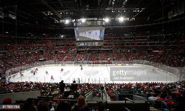 A general view of the BBT Center during the game between the Florida Panthers and the Colorado Avalanche on October 22 2016 in Sunrise Florida The...