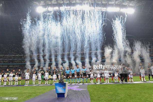 General view of the BBVA Stadium prior the Final first leg match between Monterrey and America as part of the Torneo Apertura 2019 Liga MX at BBVA...