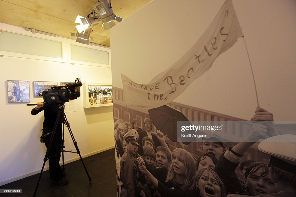A general view of the Beatlemania exhibition is seen on May 28, 2009 in Hamburg, Germany. The exhibition, which opens tomorrow, shows the development of the Beatles from their beginnings in Hamburg until they split up.