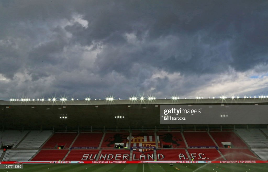Sunderland v Sheffield Wednesday - Carabao Cup First Round