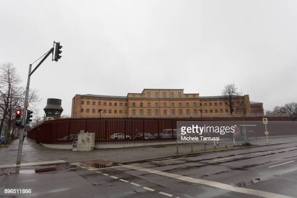 A general view of the Berlin Criminal Prison or Justizvollzugsanstalt JVA of Moabit where Sardar H a former member of a local chapter of the 'Hell's...