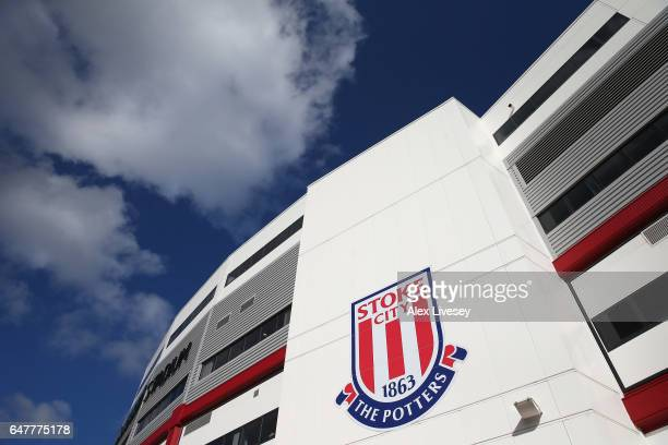 A general view of the Bet365 Stadium is seen prior to the Premier League match between Stoke City and Middlesbrough at Bet365 Stadium on March 4 2017...