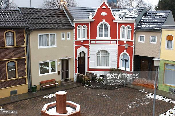 General view of the Big Brother Village on February 23 2005 in Cologne Germany