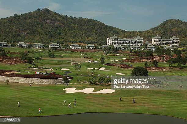 A general view of the Black Mountain Golf Club during round four of the Black Mountain Masters at Black Mountain Golf Club on December 19 2010 in Hua...