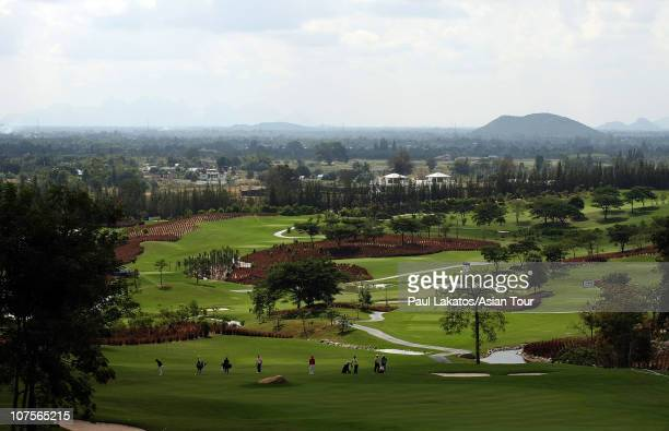A general view of the Black Mountain Masters at Black Mountain Golf Club on December 14 2010 in Hua Hin Thailand
