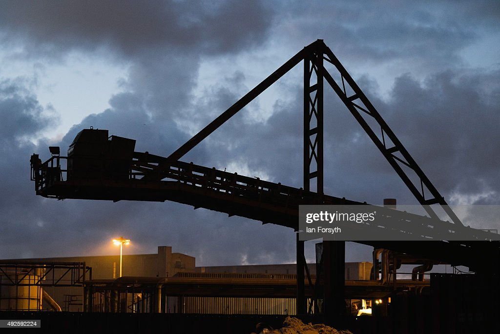 General view of the blast furnace site at the SSI UK steel making plant on October 14, 2015 in Redcar, England. Following the recent announcement that the SSI UK steel blast furnace and coke ovens are to close Middlesbrough Council are putting forward an urgent motion at a council meeting this evening to call for a full enquiry into the handling of the matter and to declare their unconditional support for the steelworkers and their families. The economic impact on businesses in the area is likely to be significant as a rich heritage of steelmaking on Teesside comes to an end.