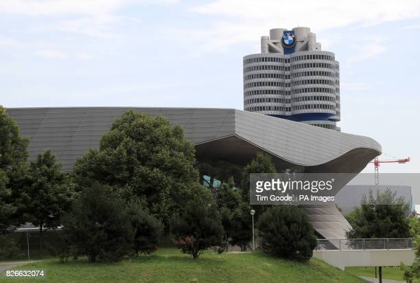 A general view of the BMW headquarters and museum in Munich Germany