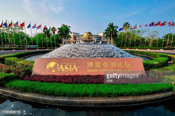 General view of the Boao Forum for Asia International Conference Center in Boao, south China's Hainan province on March 26, 2019. - The BFA Annual...