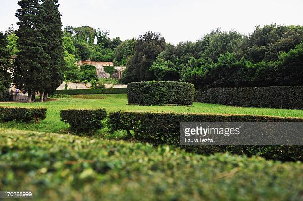 A general view of the Boboli Gardens on June 8 2013 in Florence Italy The latest book by the American writer Dan Brown is set largely in Florence...