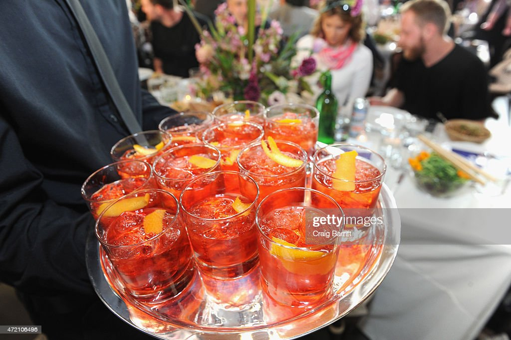 2015 Pioneer Works 2nd Annual Village Fete Presented By BOMBAY SAPPHIRE GIN : News Photo