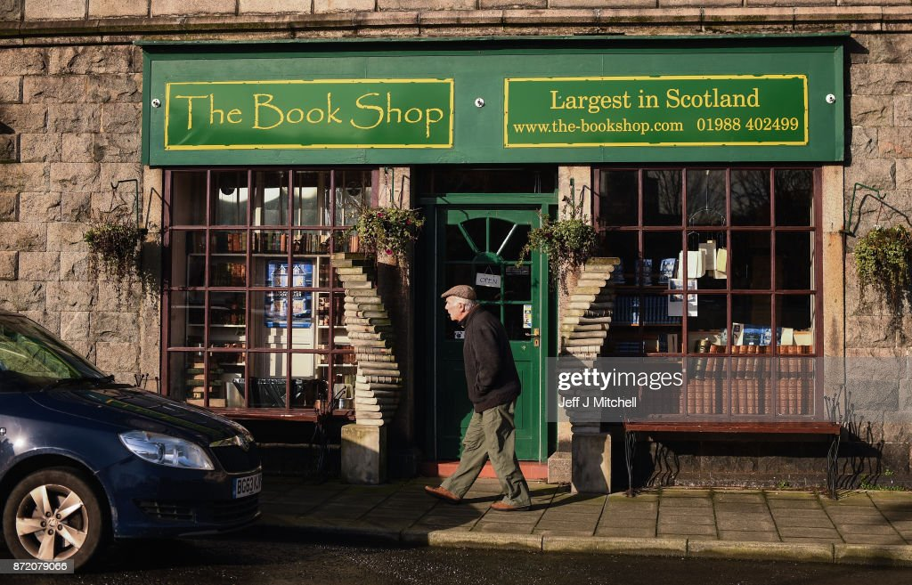 A general view of The Book Shop, the largest second hand bookstore in the country on November 9, 2017 in Wigtown,Scotland. Wigtown has had official 'book town' status since 1998, with Mr Bythell owning Scotland's largest second hand book shop since 2001with a stock of over one hundred thousand books covering almost every imaginable subject.