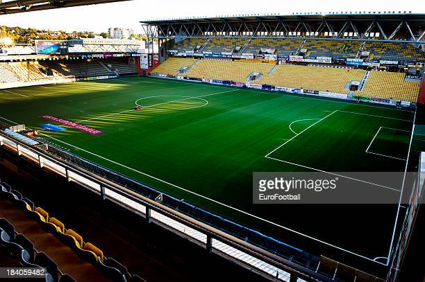 General view of the Boras Arena home of IF Elfsborg taken during the UEFA Europa League group stage match between IF Elfsborg and R Standard de Liege...