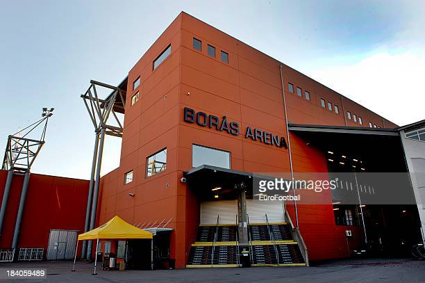 General view of the Boras Arena, home of IF Elfsborg taken during the UEFA Europa League group stage match between IF Elfsborg and R. Standard de...