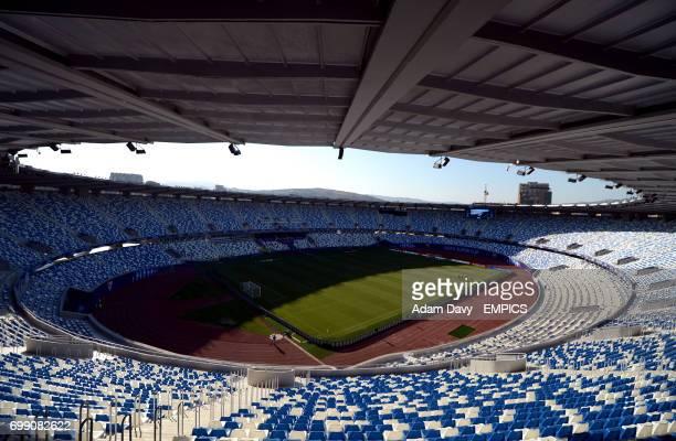 A general view of the Boris Paichadze Dinamo Arena