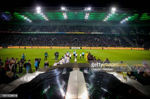 General view of the BORUSSIA-PARK during the Bundesliga match between Borussia Moenchengladbach and Eintracht Frankfurt at Borussia-Park on September...