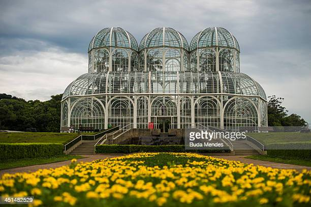 A general view of the Botanical Garden also known as the 'Jardim Botanico Fanchette Rischbieter' a major tourist attraction and landmark of the city...