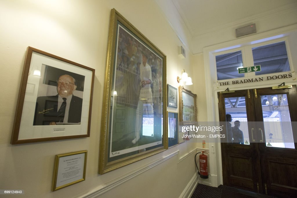 A general view of the Bradman Doors at the Kia Oval & Bradman Doors Stock Photos and Pictures | Getty Images