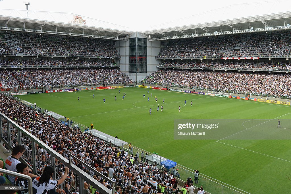 A general view of the Brazilian League match between Athletico and Cruzeiro at the Independencia Stadium on December 2, 2012 in Belo Horizonte, Brazil.
