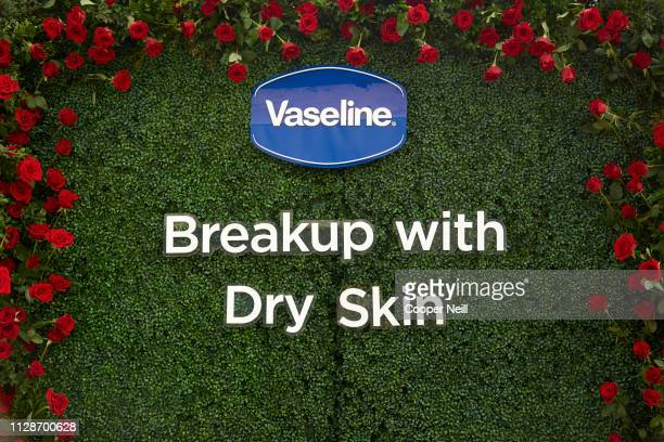 "General view of the ""Breaking up with Dry Skin"" event presented by Vaseline with Rachel Lindsay at Sundown At Granada on March 4, 2019 in Dallas,..."
