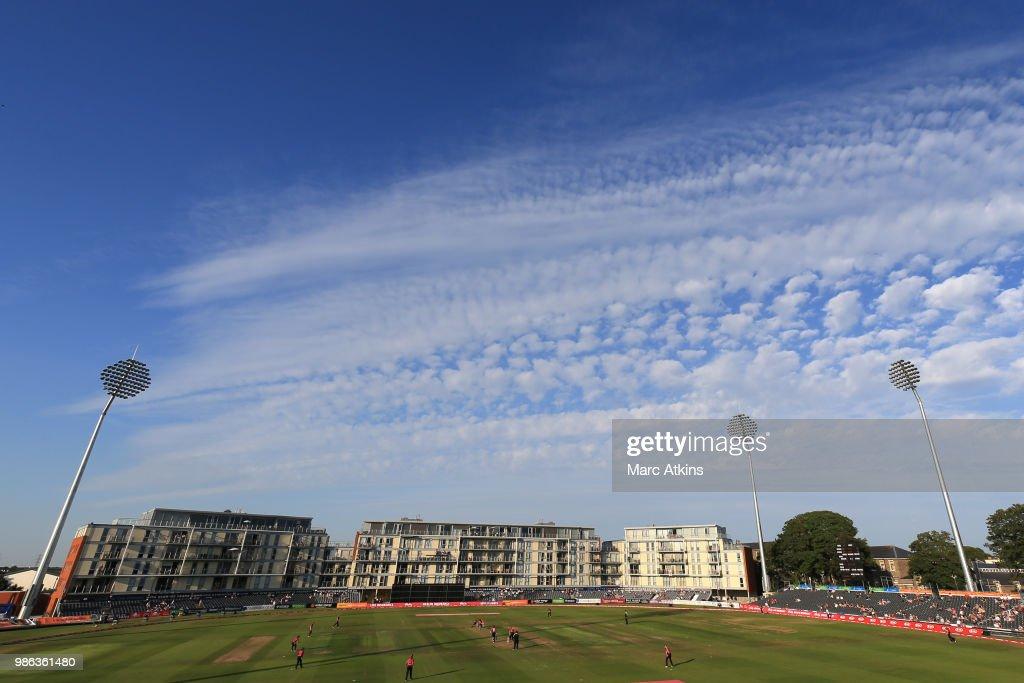 England Women vs New Zealand Women - International T20 Tri-Series : News Photo