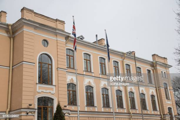 General view of the British consulategeneral in St Petersburg The Russian Foreign Ministry announced measures 'in response to the British side's...