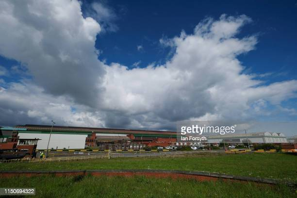 General view of the British Steel Lackenby Steel works on May 21 2019 in Teesside England British Steel is on the verge of administration as it...