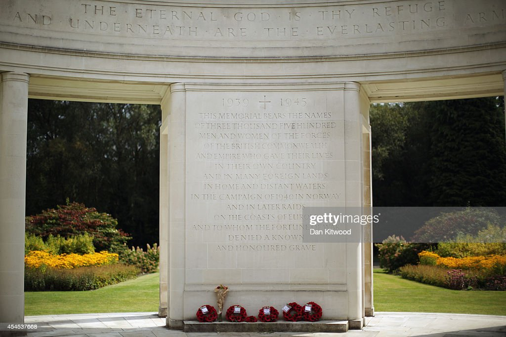 A general view of the Brookwood Memorial at the Brookwood Military Cemetery on September 3, 2014 in London, England. The memorial commemorates the 3,438 men and women of the commonwealth that died during the Second World War. Brookwood Military Cemetery in Surrey, is the largest Commonwealth War Cemetery in the UK. Today marks the 75th anniversary of Britain entering the Second World War.