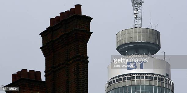 A general view of the BT Tower on May 14 2009 in London England British Telecom have announced a cut of 15000 jobs over the coming year after...