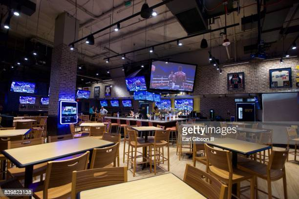 A general view of the Buffalo Wild Wings Opening In Koreatown at Buffalo Wild Wings on August 26 2017 in Los Angeles California