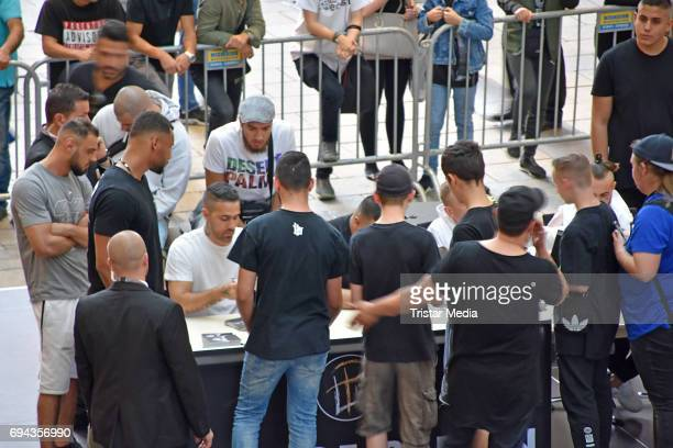 A general view of the Bushido autograph session for the launch of his album 'Black Friday' at Mall of Berlin on June 9 2017 in Berlin Germany